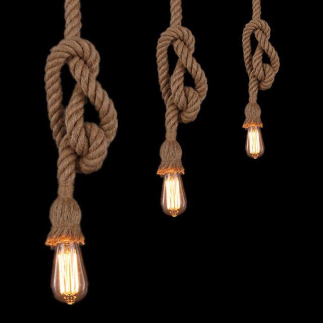 Pin Van Sannah Op Lampen Touw Lamp Cafe Verlichting Lampen