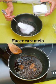 Cómo hacer caramelo. #hogarmania #eva #arguiñano #tecnica #caramelo