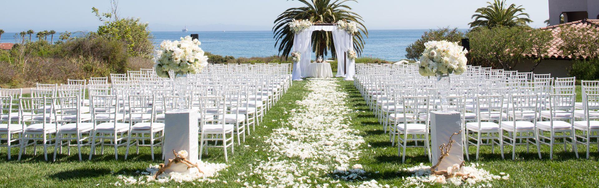 Gorgeous Santa Barbara Weddings Beachfront Venues By Bacara Resort Weddingssantabarbara Santa Barbara Wedding Venue Ocean View Wedding Santa Barbara Wedding