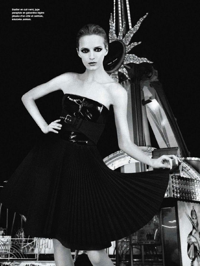Numéro September 2012 by Karl Lagerfeld