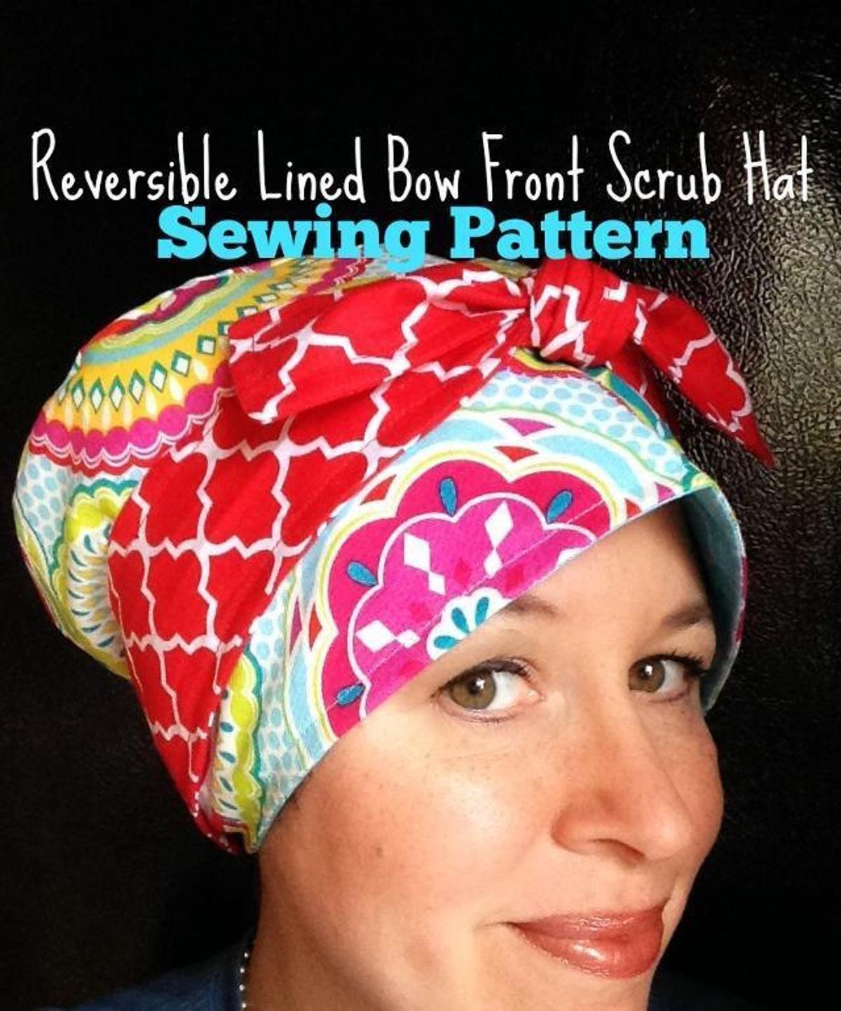 DIY Reversible Scrub Hat Sewing Pattern | Craftsy | Scrub