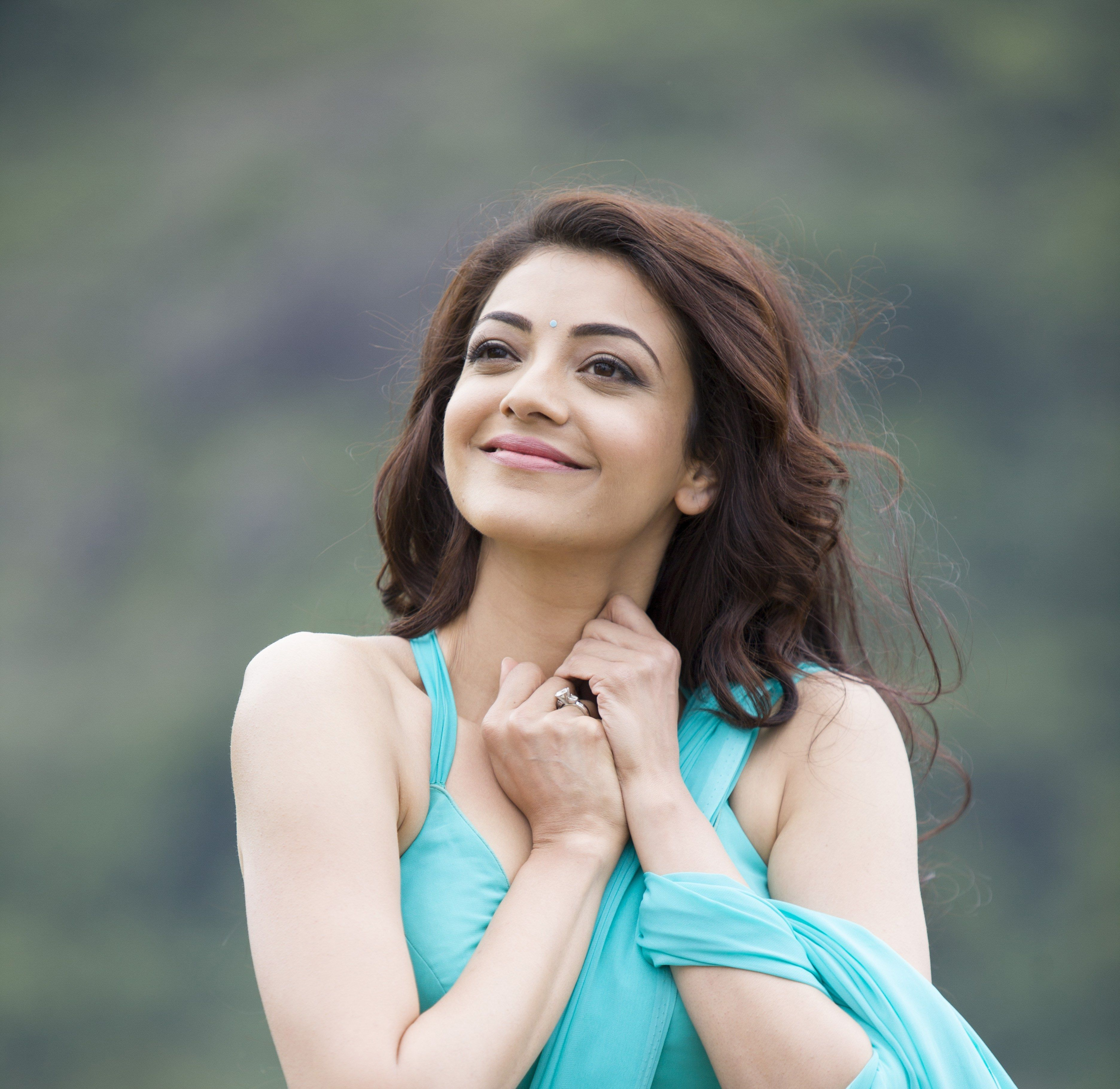 4k Wallpaper Of Kajal Agarwal