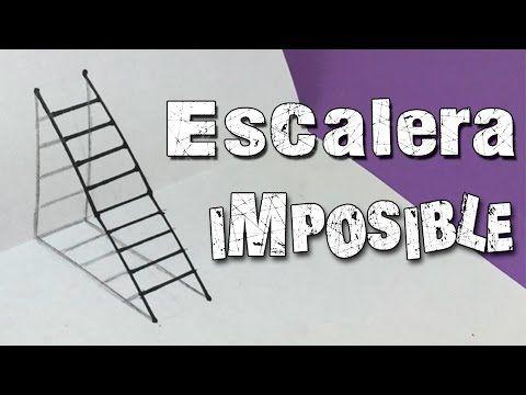Ilusiones Opticas Escalera Imposible En 3d Ilusiones Opticas Ilusiones Ilusion Optica Dibujo