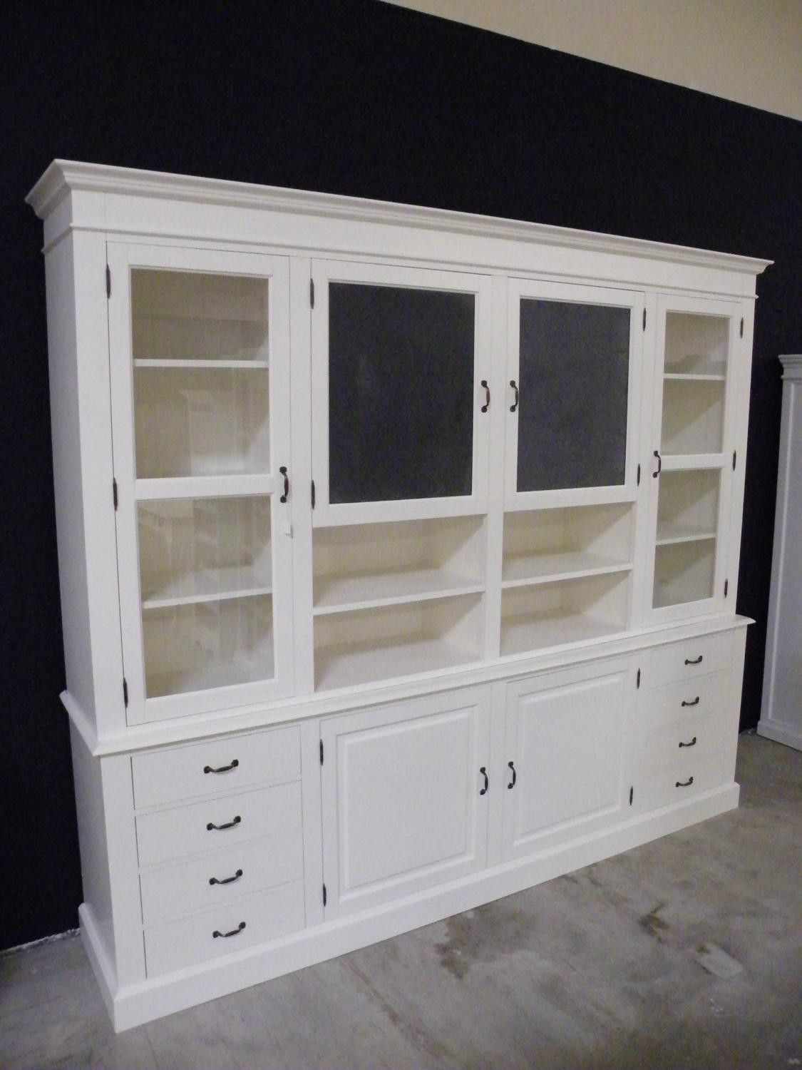 shabby chic buffet vitrine buffet schrank. Black Bedroom Furniture Sets. Home Design Ideas