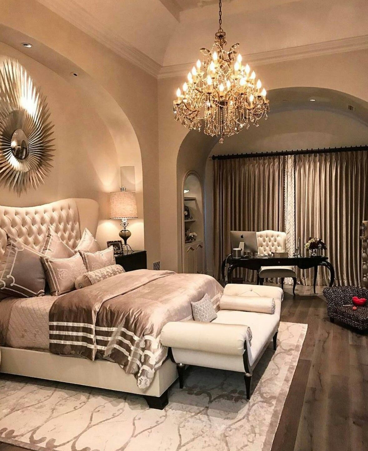 I just like the bed bedding end of bed couch not room design or