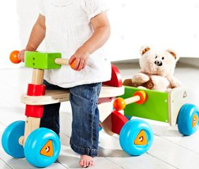 Mothercare Ride On Trike And Trailer Toddler Toys Toys