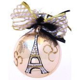 Found it at Wayfair - Eiffel Tower Ornament http://www.wayfair.com/Eva-Design-Eiffel-Tower-Ornament-ET-123-EVAD1008.html $34.99