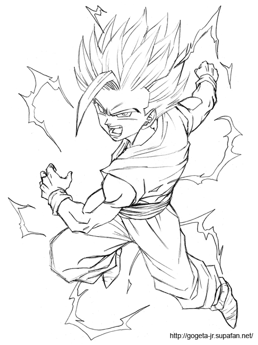 Teen Gohan SSJ2 | Dbz | Pinterest | Dragon ball, Dragones y Dibujo