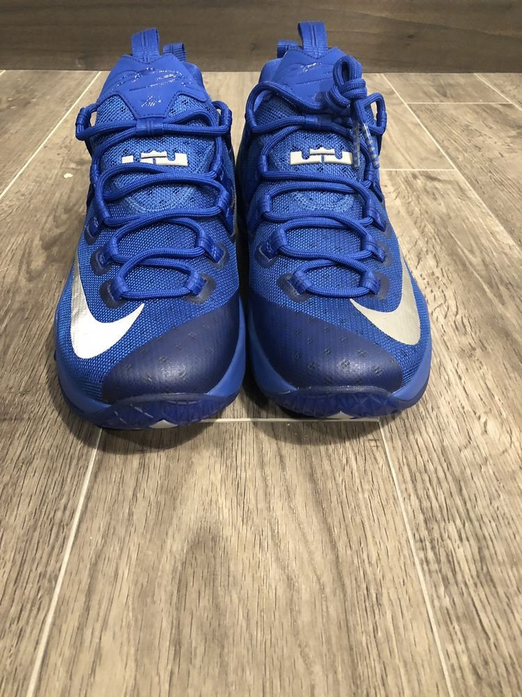 reputable site 64838 0d6da New Nike LeBron 13 Low Game Royal Blue 831925-400 Size 10 US ...