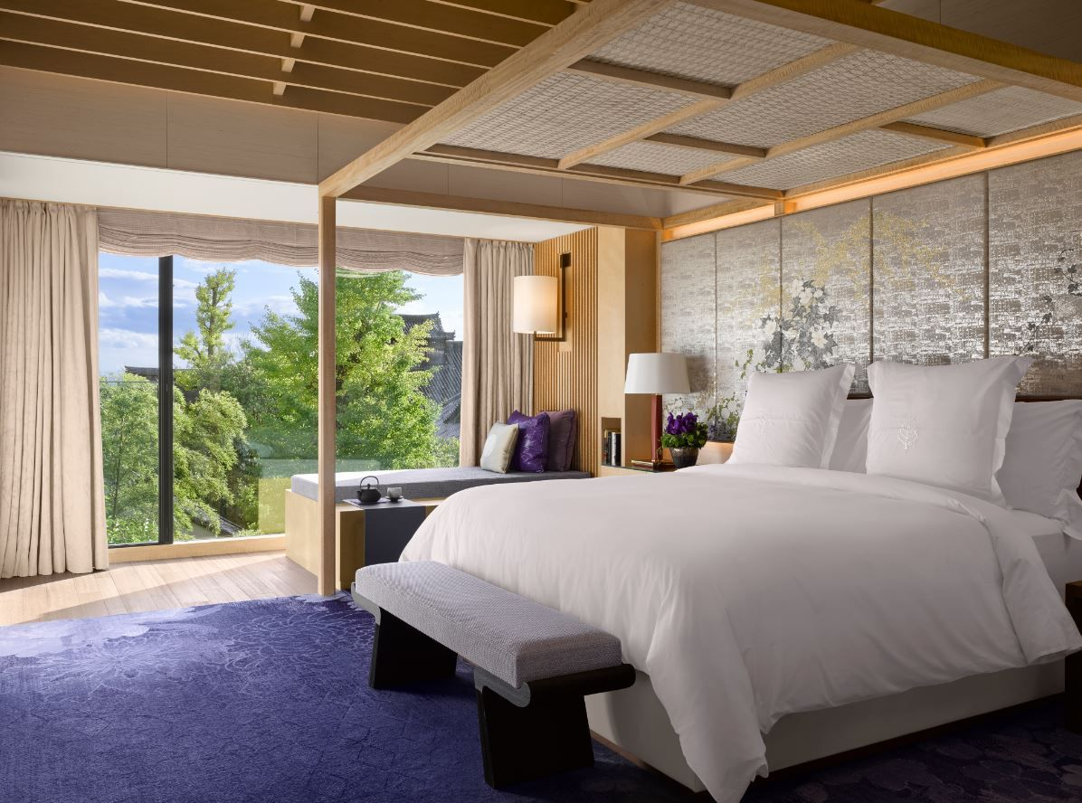 Presidential Suite Bedroom Of The Four Seasons Kyoto By HBA Design. Japanese  InteriorHotel ... Pictures Gallery