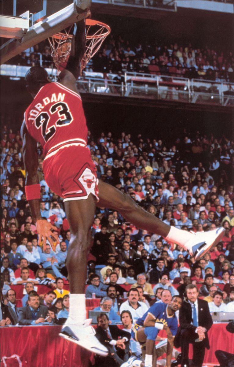 Image result for michael jordan wearing jordan 3 1988