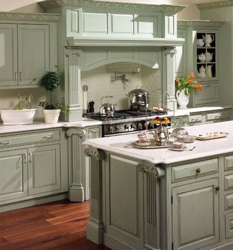 Plain & Fancy Custom Cabinetry - traditional - kitchen ...