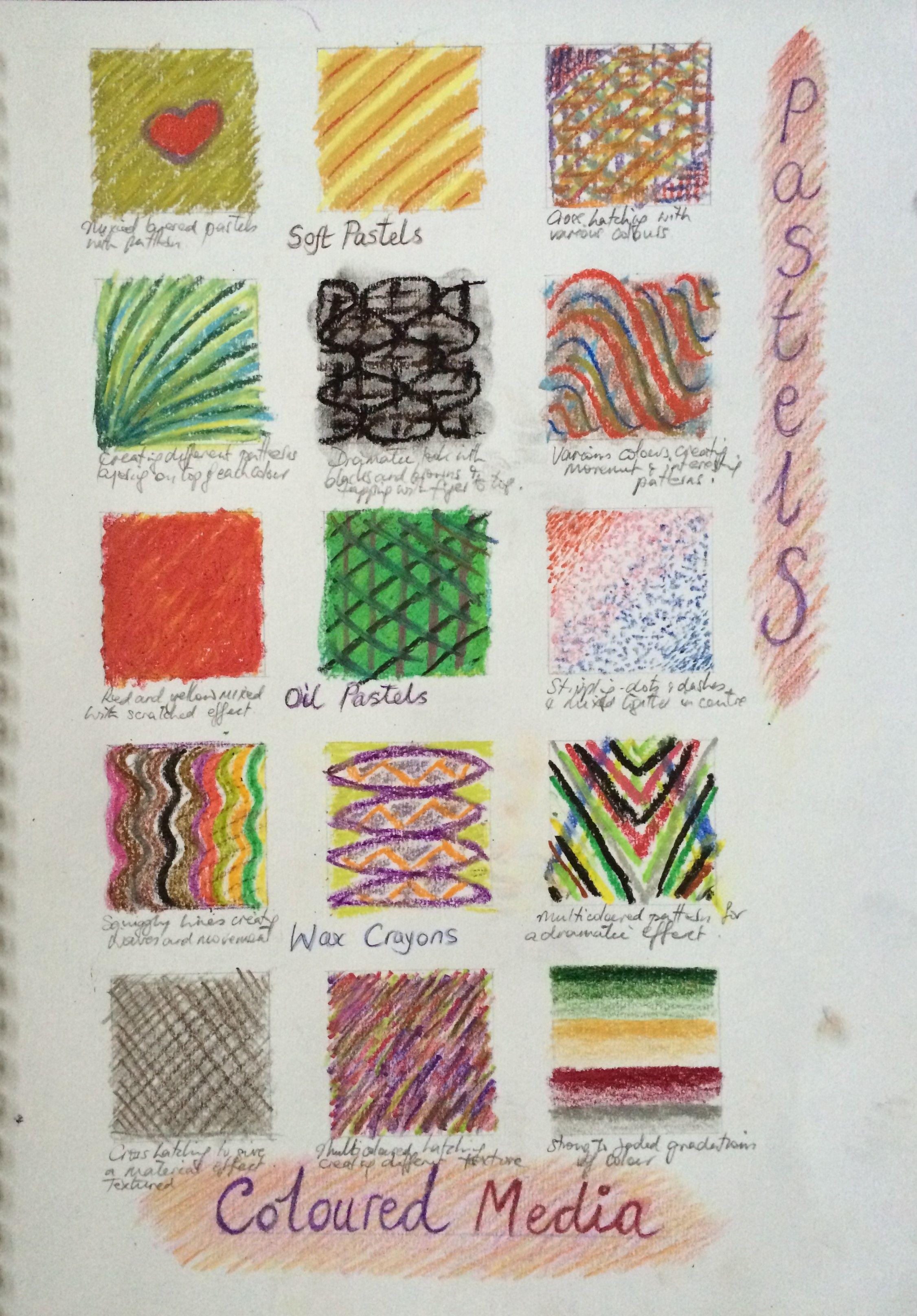 Colored Pencil Blending Techniques