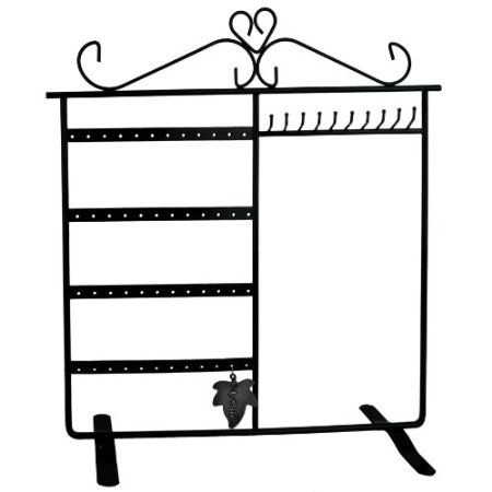 Amazoncom Classic Black Jewelry Holder Jewelry Stand for Earrings