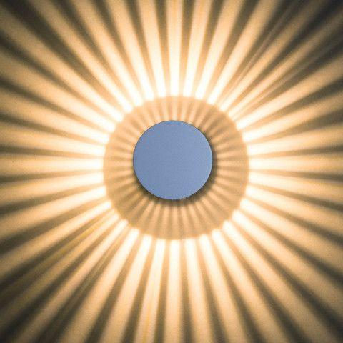Nice Effekt Wand und Deckenleuchte Heitronic illuminiert mit hellem Strahlenkranz ordern Sie Ihre Leuchten f r Haus u Garten im ikarus udesign shop