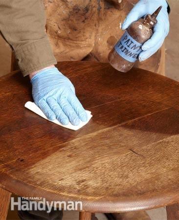 Cómo Refinish muebles