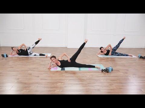 40-Minute Cardio Pilates and Strength Workout #cardiopilates