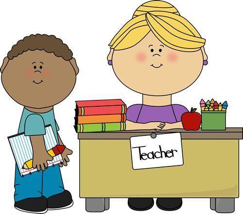 teacher and student clipart classroom bulletin pinterest rh pinterest ca teacher and student clipart free teacher and student talking clipart
