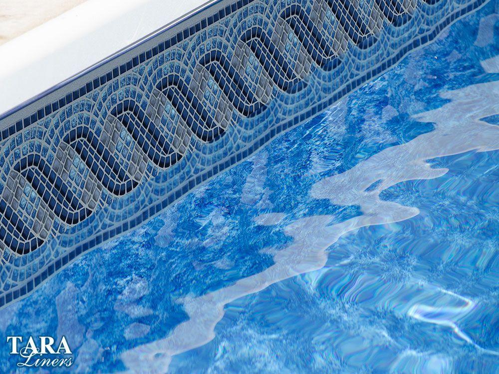 Gulf Breeze Vinyl Pool Liner Pattern For Inground Swimming Pools Pool Liners Inground Pool Liners Swimming Pools Inground
