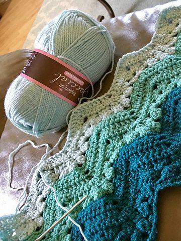 Easy] 6-Day Kid Blanket - Free pattern | Häkeldecke, Leichte rezepte ...
