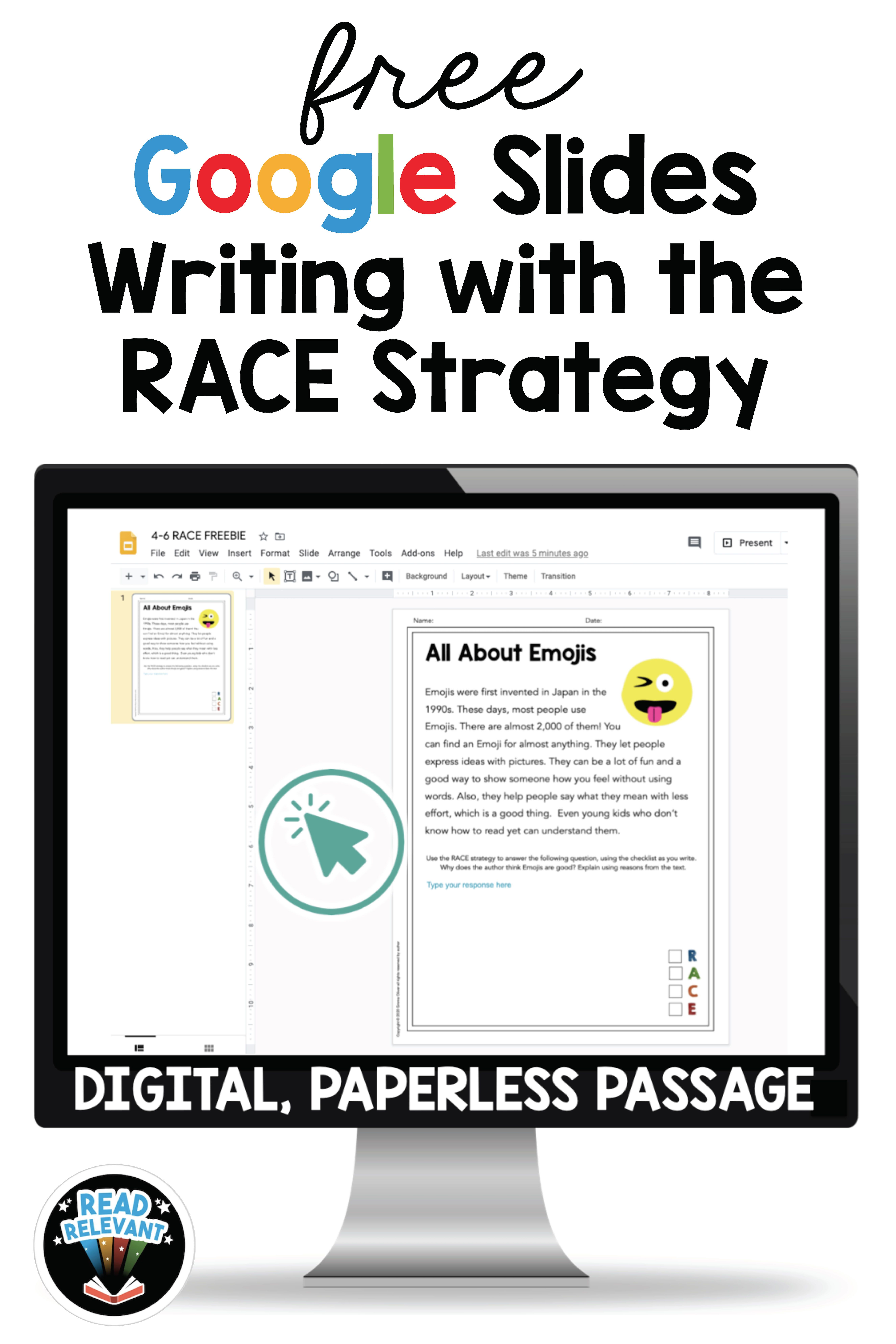 Race Strategy Writing Free Grades 4 6 Distance Learning Google Distance Learning Races Writing Strategy Writing Lesson Plans [ 7950 x 5300 Pixel ]
