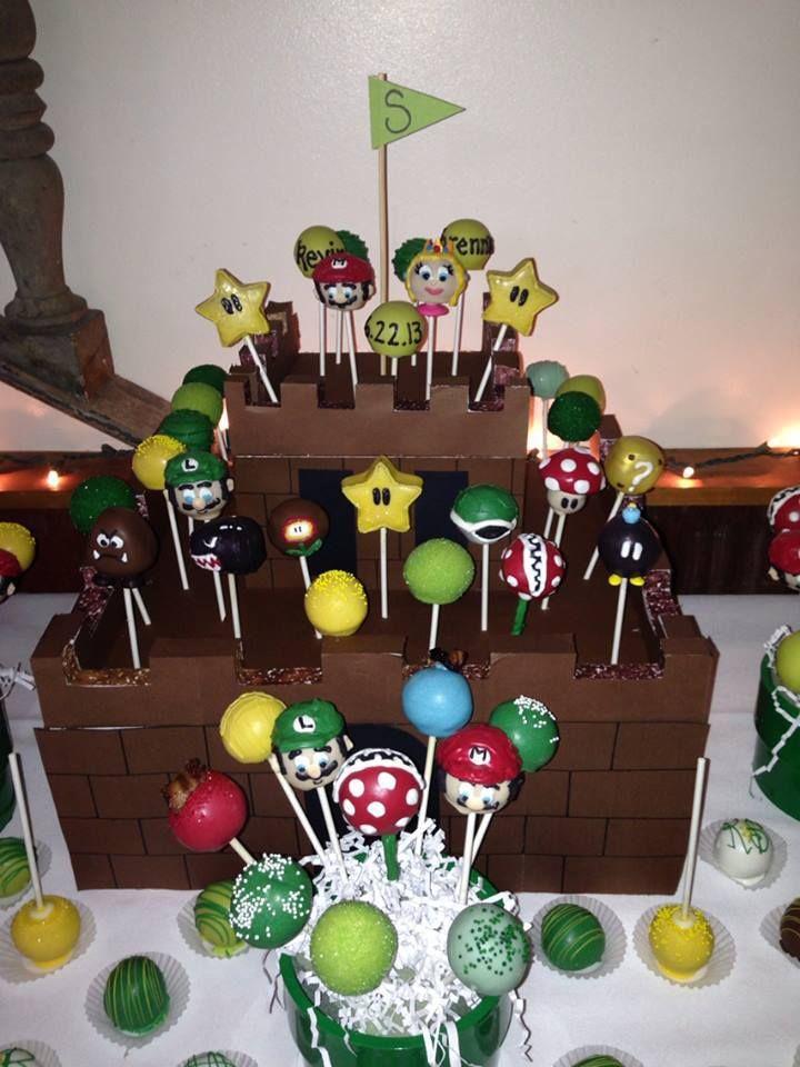 Edibles By Erin Mario Cake Mario Bros Party Mario Party