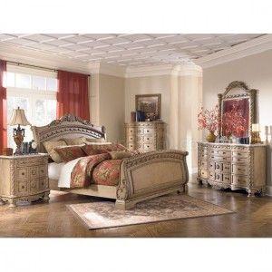 South Coast Sleigh Bedroom Set By Millennium Ashley Furniture B547 Br