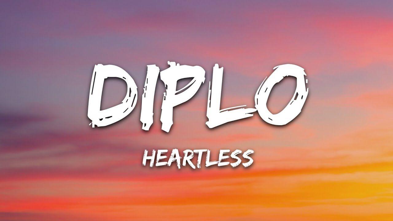 Diplo Heartless Lyrics Ft Morgan Wallen Youtube In 2020 Diplo Lyrics Singing Videos