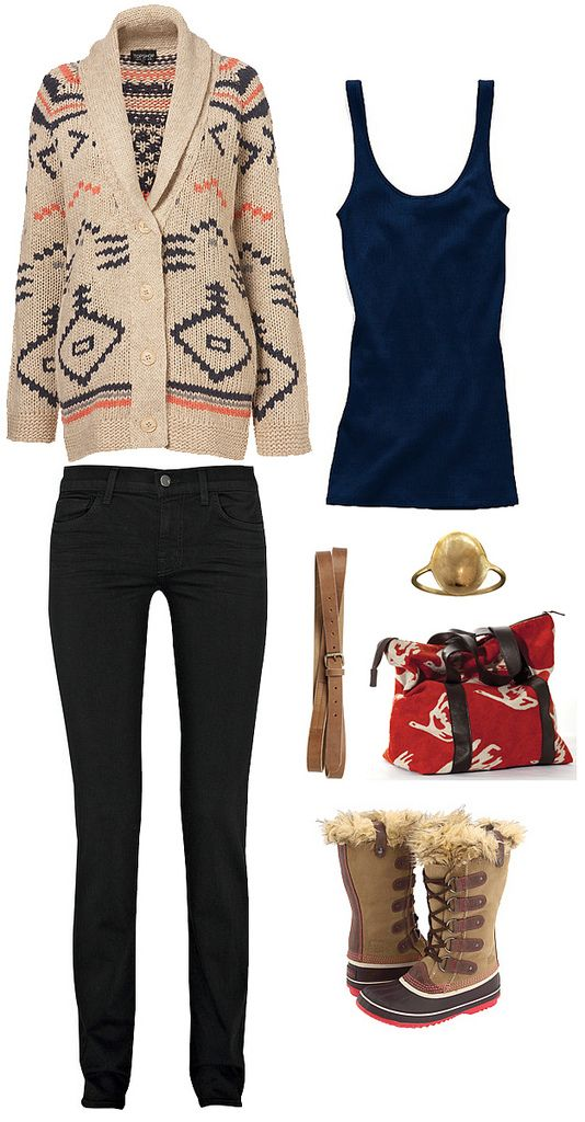 maybe just plain brown boots unless i move somewhere colder #style #outfit