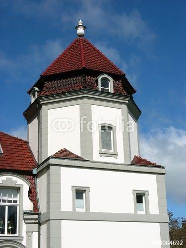 Denkmalgeschützte Villa in Oerlinghausen im Teutoburger Wald bei Bielefeld in Ostwestfalen-Lippe