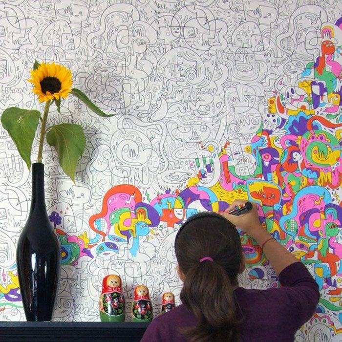 Солнечного тебе, чем раскрасить картинку креативно
