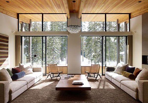30 idées de salon contemporain ouvert sur intérieur et extérieur il est relié aux autres espaces cuisine salle à manger ou chambre à coucher