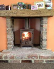 Charnwood Country 4 in Bronze(chimney mom had that's ANTIQUE)