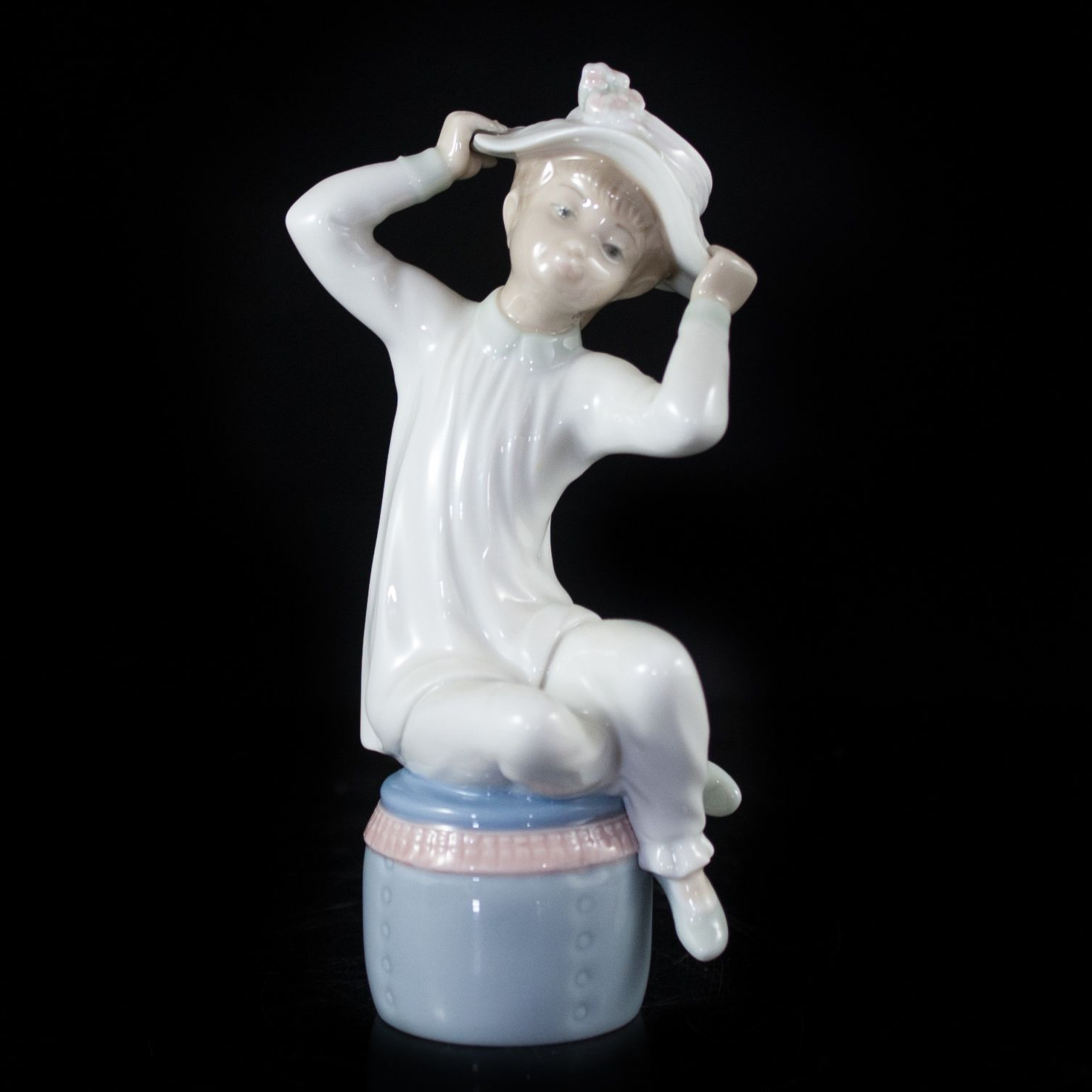 out on number with bottom Lladro
