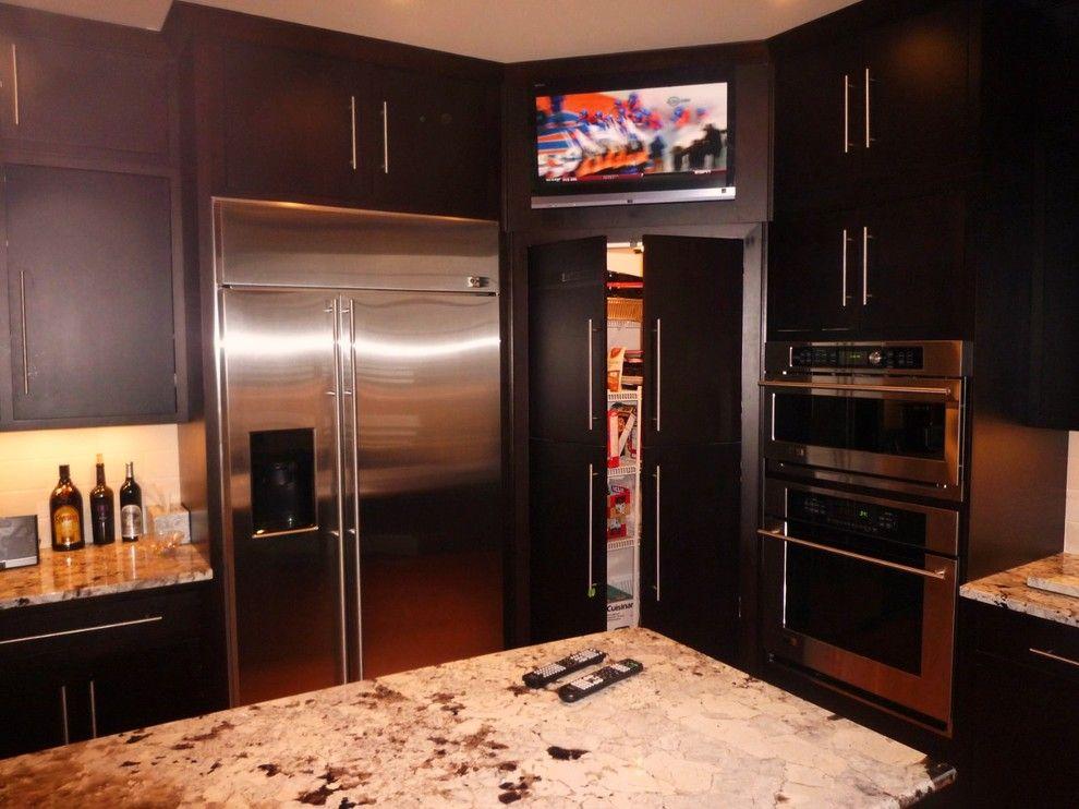 corner kitchen pantry cabinet. Cool Corner Pantry Cabinet mode Louisville Modern Kitchen Inspiration with  none