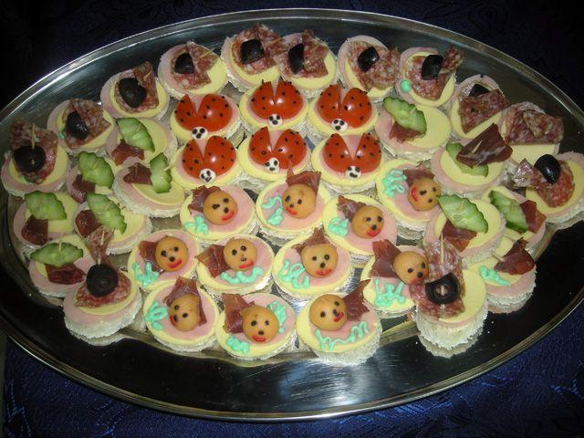 jela za rođendan Dekorativni #sendvici za deciji #rodjendan | Ketering za decije  jela za rođendan