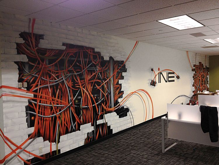 Office Mural In Seattle Graffiti Art Artists For Hire