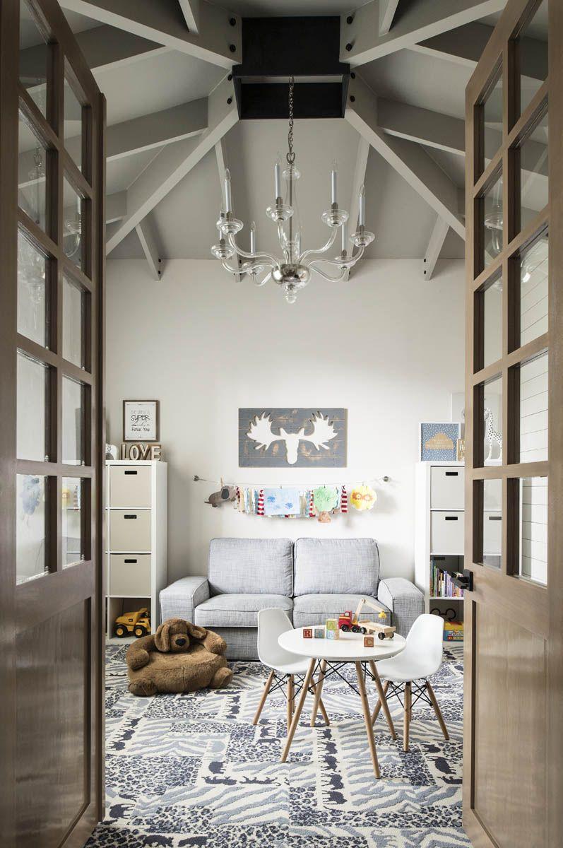 A Modern Rustic Home | Rue | Nesting | Pinterest | Modern, Playrooms ...
