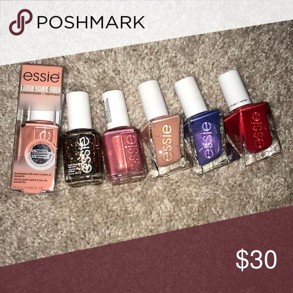 NEW ESSIE Nail Polish Bundle NWT | Essie nail polish and Essie nail ...