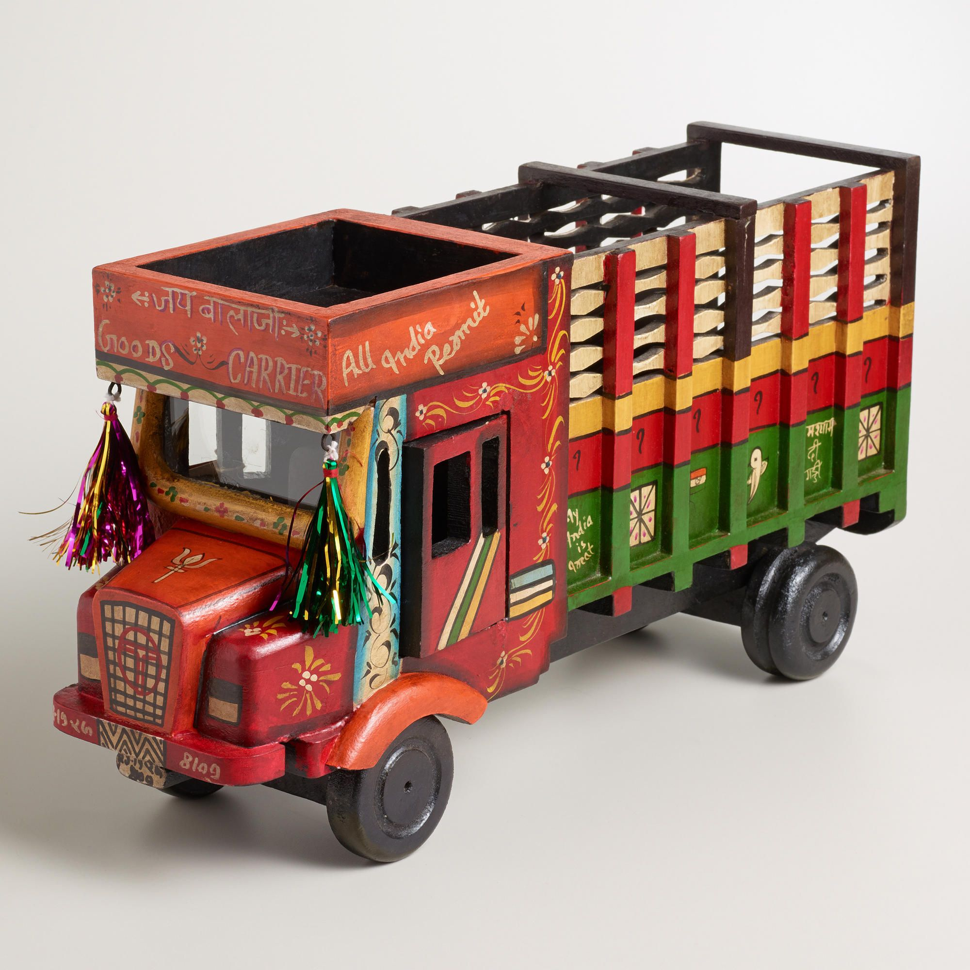 Too Cute Indian Truck Decor World Market With Images Wooden