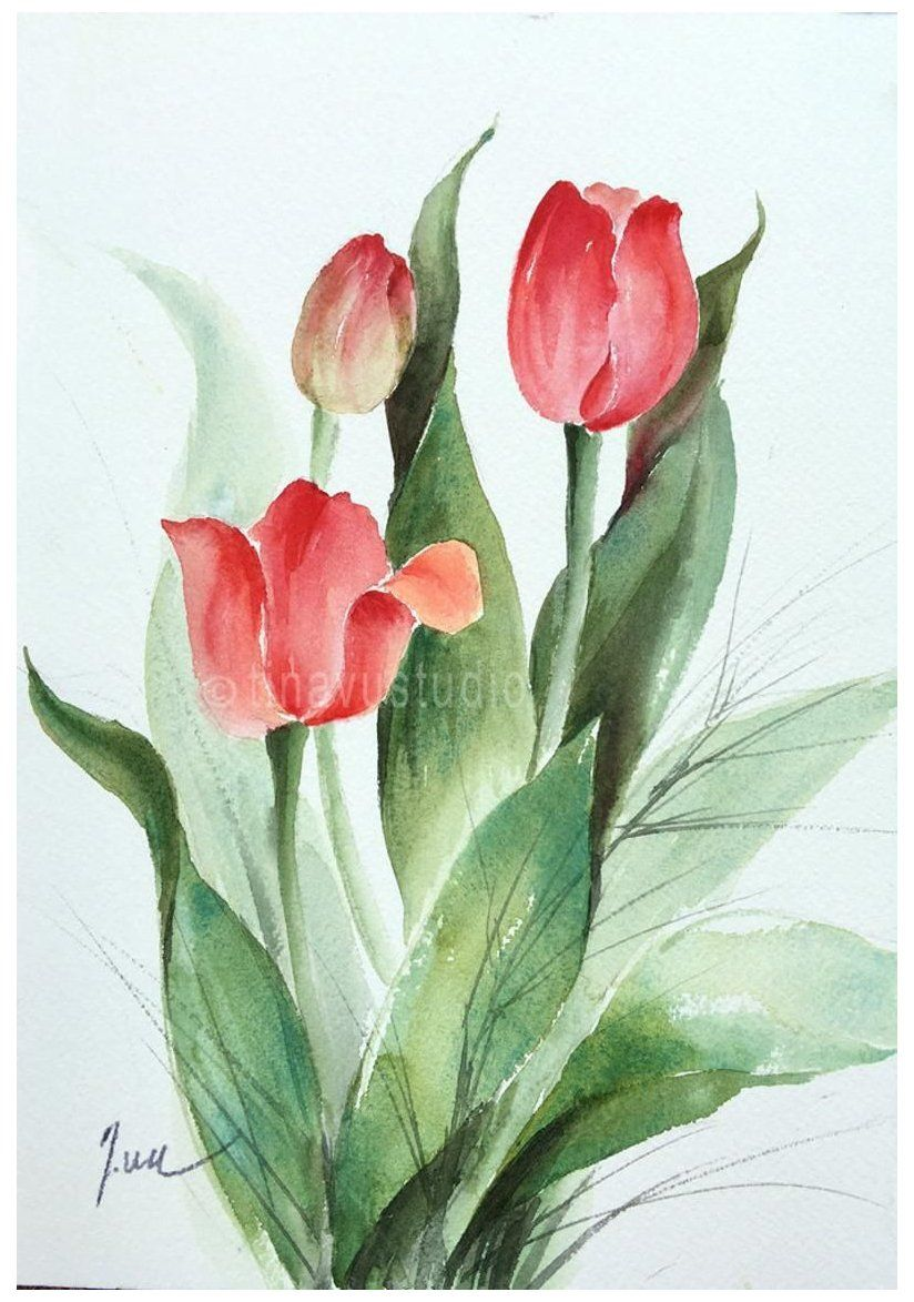 Pin On Flower Painting