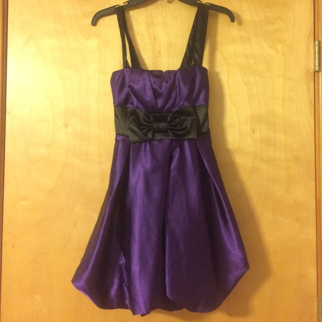 Gorgeous Purple Speeckless Homecoming Dress