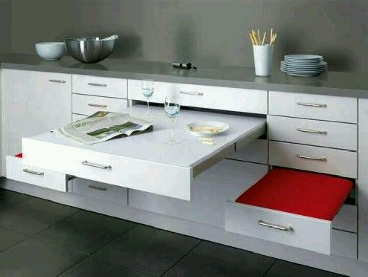 Para espacios peque os casa rodante pinterest for Cocinas pequenas para espacios pequenos