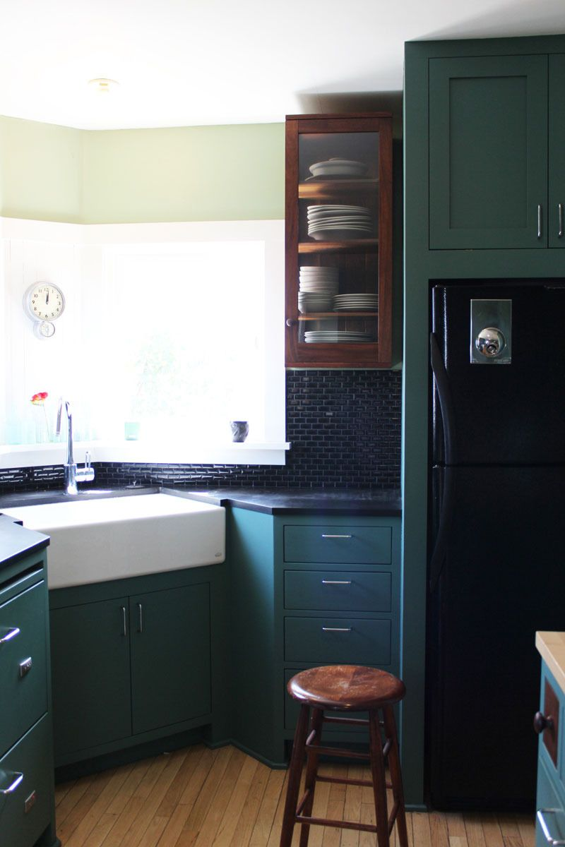 sink kitchen cabinets large island for sale get the look shaker inspired if you can t stand style i like industrial file cabinet esque counters not so much subway tile