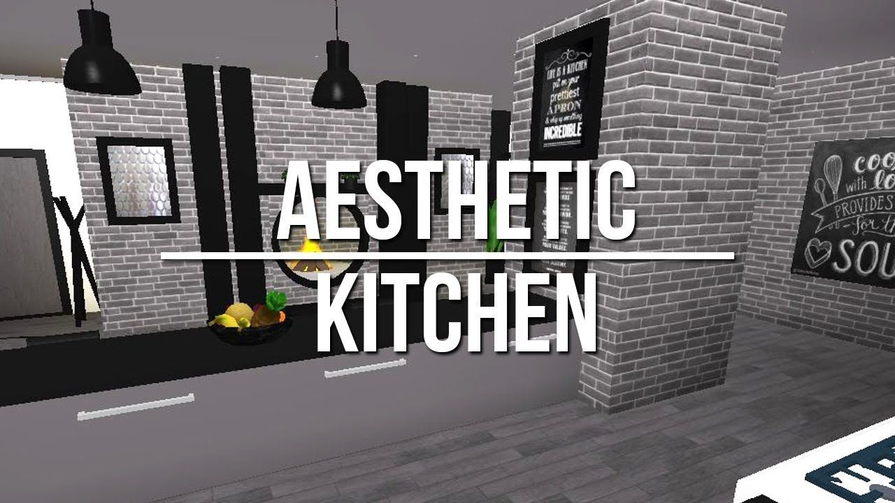 ROBLOX to Bloxburg Aesthetic Kitchen. Drawing