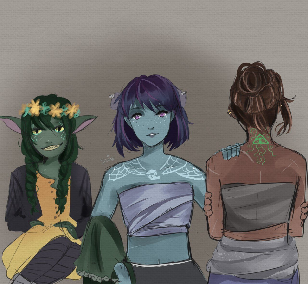 Staary Eyes On Twitter Critical Role Fan Art Critical Role Critical Role Campaign 2 Critical role characters critical role fan art dnd characters fantasy characters female jade tattoo you guys liked it so much i gave it a glowup #criticalrole #criticalroleart. critical role fan art
