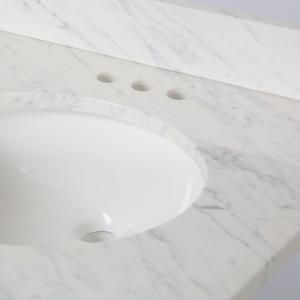 St Paul 31 In X 22 Stone Effects Vanity Top With