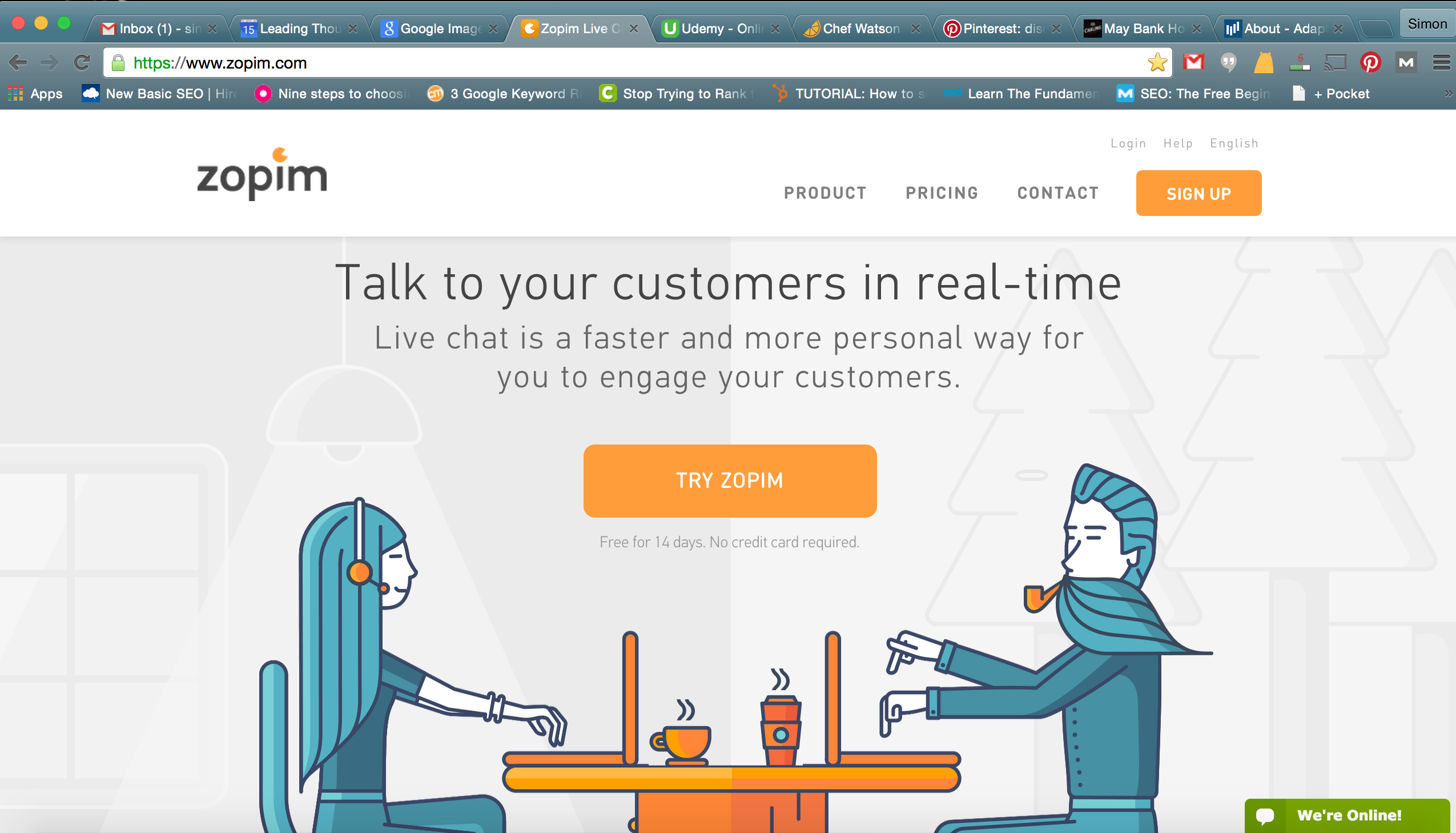 Live Chat Software with Zendesk Chat Digital marketing