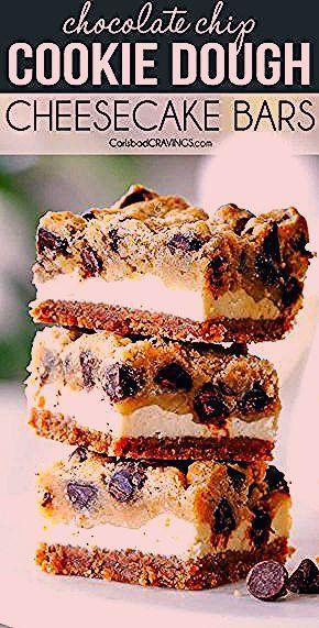 Photo of Chocolate Chip Cheesecake Bars