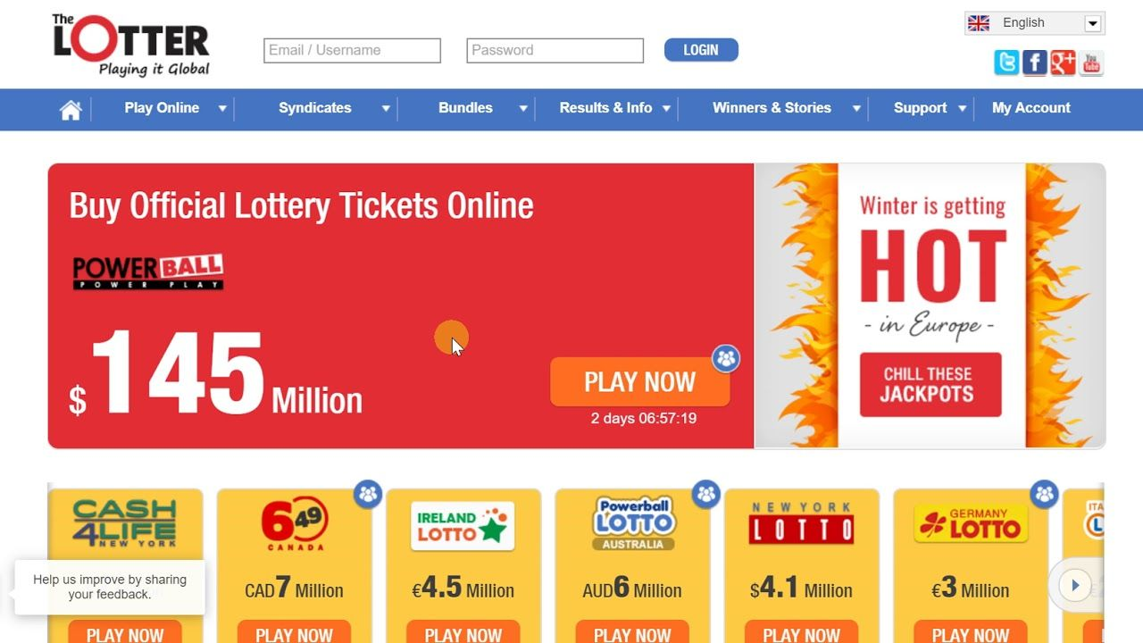 Purchase Lottery Tickets Online Canada